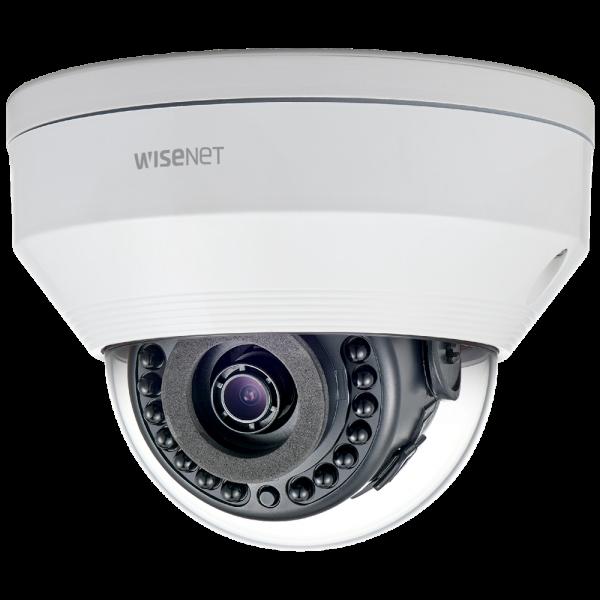Фото 2 - Уличная вандалостойкая IP-камера Wisenet LNV-6030R с WDR 120 дБ и ИК-подсветкой, ПО Trassir в подарок.
