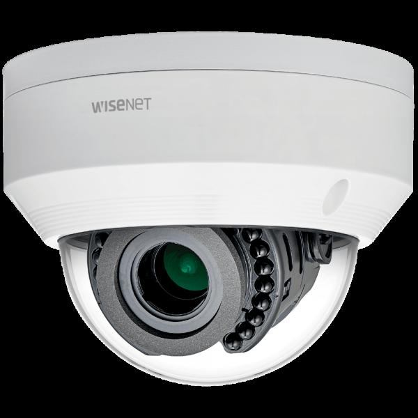 Фото 2 - Уличная вандалостойкая IP-камера Wisenet LNV-6070R, WDR 120 дБ, вариообъектив, ИК-подсветка.