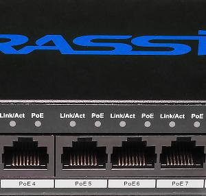 Фото 12 - TRASSIR TR-NS1010-96-8POE. Неуправляемый PoE-свитч с 8 PoE-портами (до 250 м).