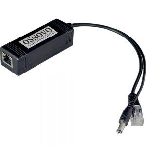 Фото 7 - PoE сплиттер OSNOVO PoE Splitter/2 Fast Ethernet.