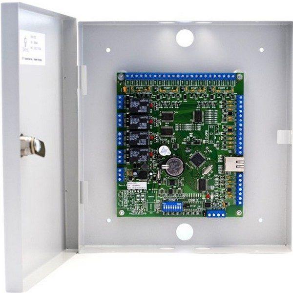 Фото 1 - Сетевой контроллер Sigur E500U для работы в составе СКУД, внутреннее исполнение, металлический корпус.