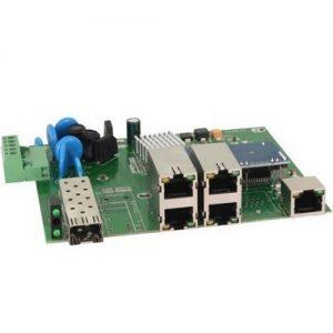 Фото 16 - Промышленный 4-портовый PoE коммутатор OSNOVO SW-40501/IC Fast Ethernet.