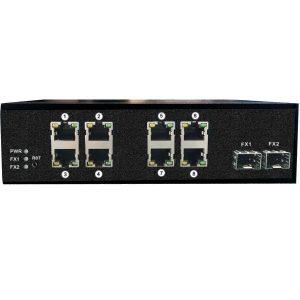 Фото 19 - Промышленный 8-портовый PoE коммутатор OSNOVO SW-60802/IC Fast Ethernet.