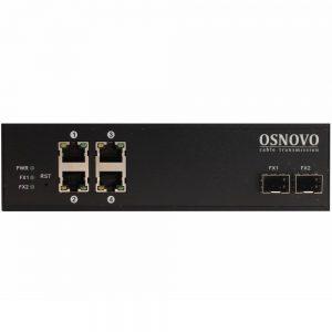 Фото 17 - Промышленный 4-портовый PoE коммутатор OSNOVO SW-8042/IC Gigabit Ethernet.