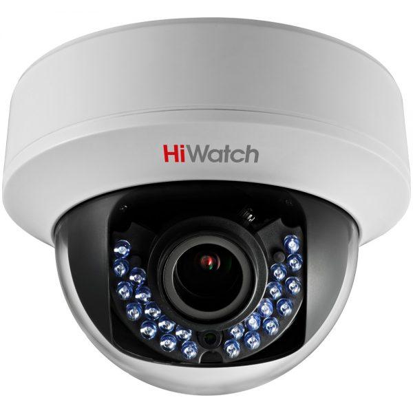 Фото 1 - HiWatch DS-T107. HD-TVI камера с ИК-подсветкой и вариообъективом.