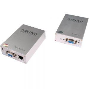 Фото 3 - Комплект TA-V/2+RA-V/2: передатчик и приемник для передачи VGA и аудиосигнала по UTP CAT5 до 100 м.