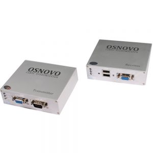 Фото 5 - Комплект TA-VKM/3+RA-VKM/3 для передачи VGA/клавиатура/мышь на расстояние до 100 м.