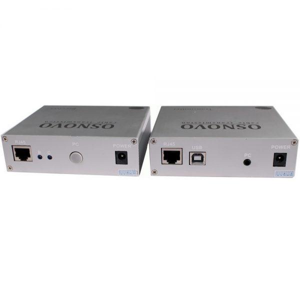 Фото 3 - Комплект TA-VKM/3+RA-VKM/3 для передачи VGA/клавиатура/мышь на расстояние до 100 м.