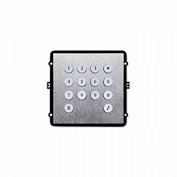 Фото 1 - Дополнительный модуль клавиатуры TRUE-IP TI-2308M/K для вызывной панели TI-2308M/M.