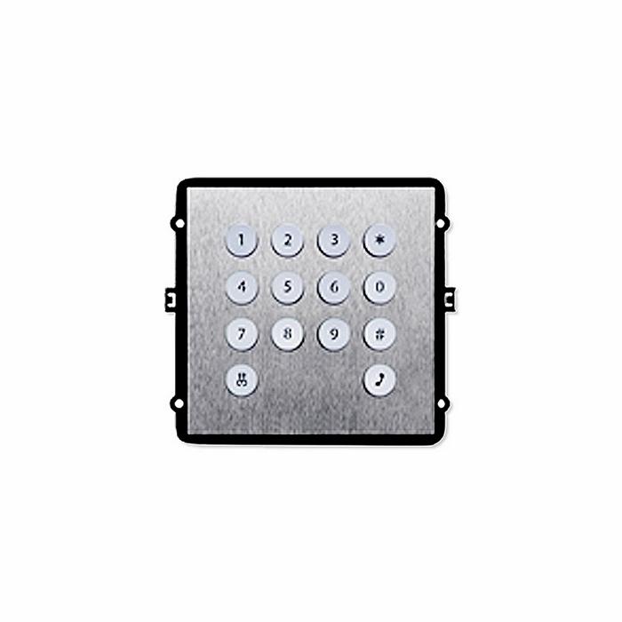 Фото 8 - Дополнительный модуль клавиатуры TRUE-IP TI-2308M/K для вызывной панели TI-2308M/M.