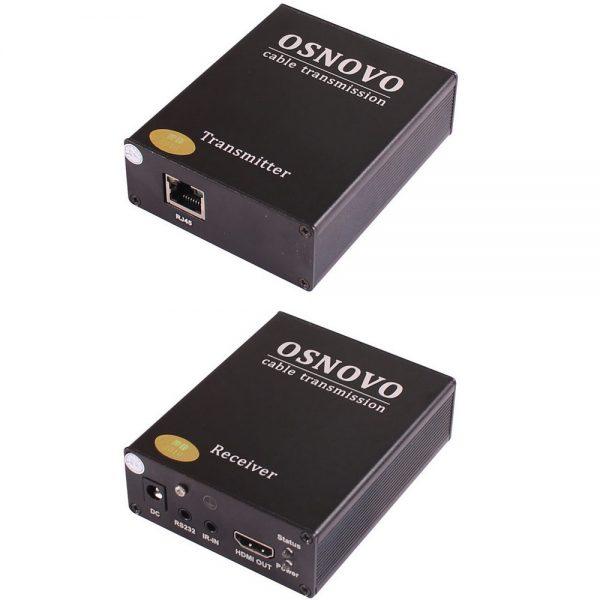 Фото 1 - Комплект TLN-Hi/1+RLN-Hi/1 для передачи HDMI по сети Ethernet до 170 м.