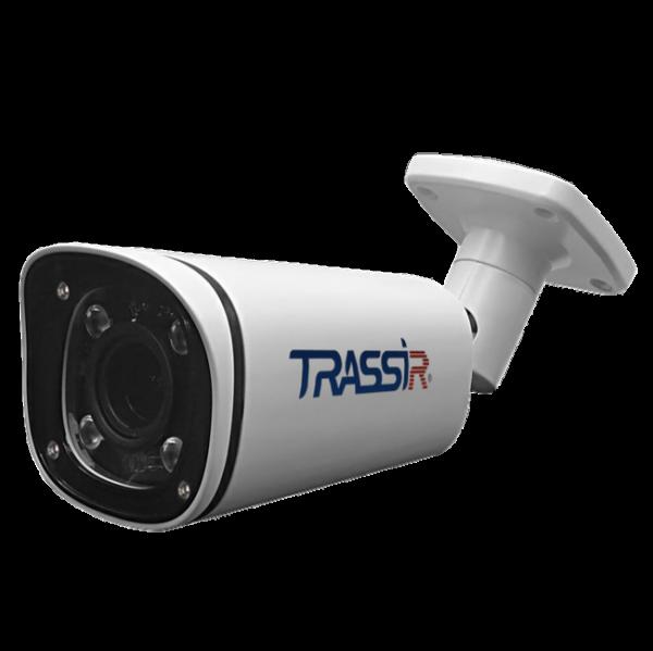 Фото 1 - Trassir TR-D2143IR6 + ПО TRASSIR в подарок: уличный bullet 4 Мп с вариофокальным объективом и ИК-подсветкой до 60 м.