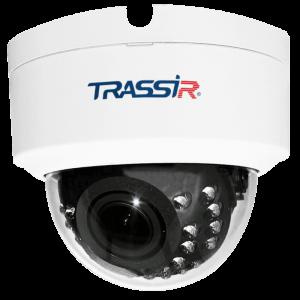 Фото 39 - Trassir TR-D3123WDIR2 + ПО TRASSIR в подарок: купольная IP-камера с ИК-подсветкой и вариообъективом.