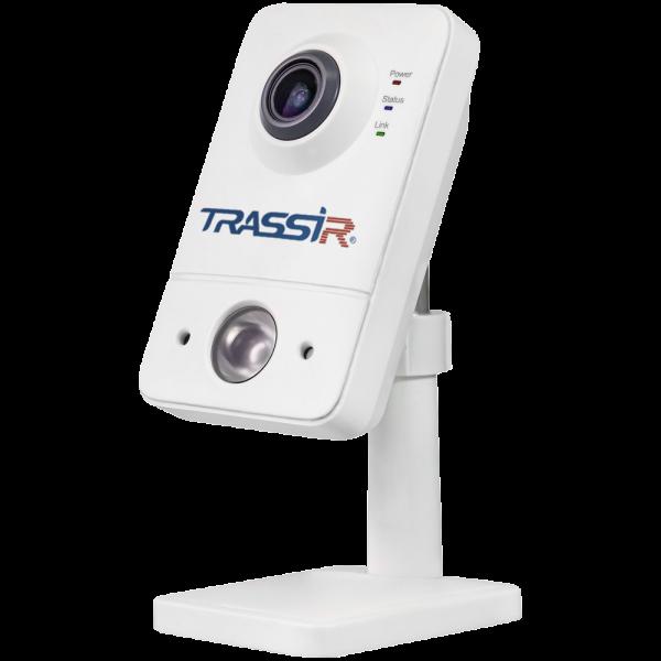 Фото 1 - Беспроводная внутренняя IP камера видеонаблюдения TRASSIR TR-D7111IR1W с ИК-подсветкой до 10 м.