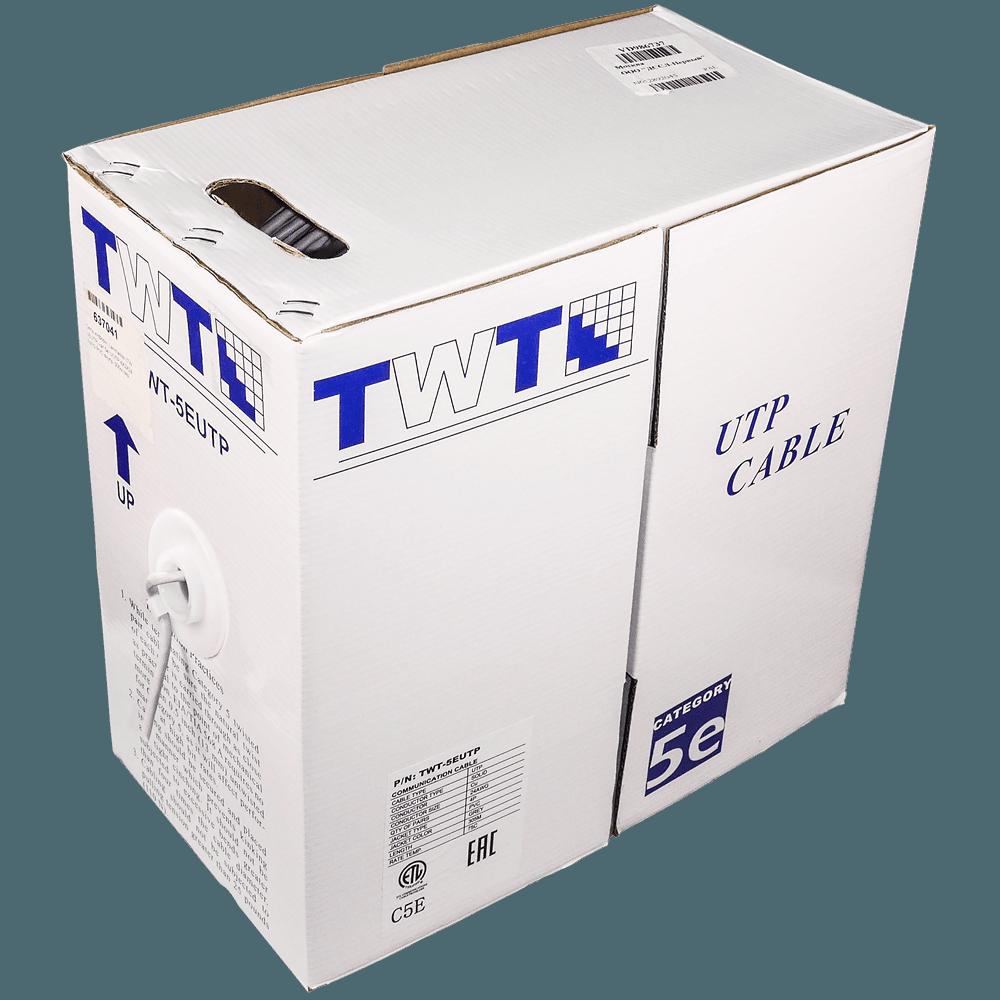 Фото 4 - Кабель UTP TWT-5EUTP для внутренней прокладки Cat 5e.