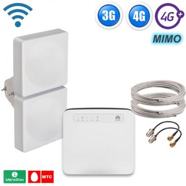 Фото 1 - Готовый комплект для подключения интернета 3G + 4G+ LTE-A интернет комплект для дома, дачи - ЭКСТРИМ до 300 Мбит.с.