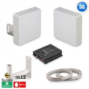 Фото 7 - Готовый комплект для усиления сигнала сотовой связи и 3G интернет для дома и дачи.