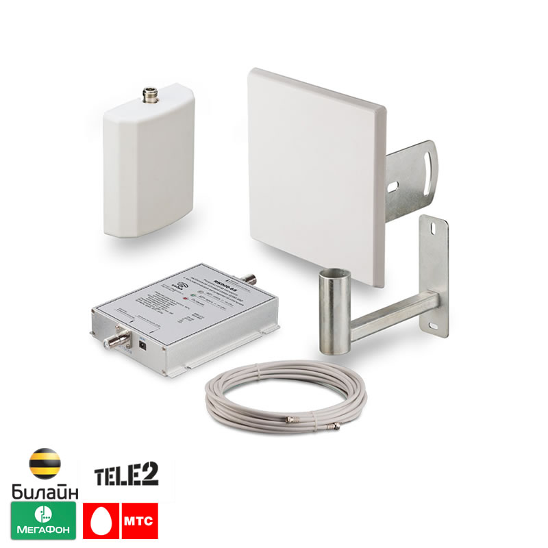 Фото 6 - Готовый комплект для усиления сигнала сотовой связи на даче GSM 900.