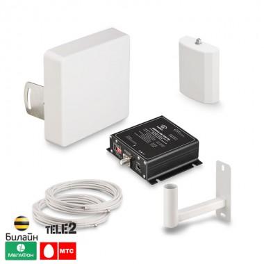 Фото 11 - Готовый комплект для усиления сигнала сотовой связи GSM1800 (KRD-1800).
